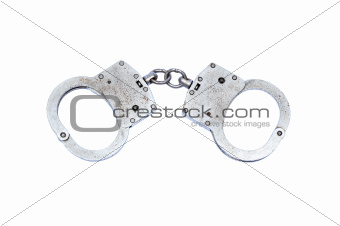 Old used Handcuffs