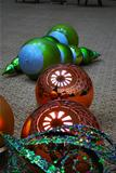 Christmas Ornaments with Reflections