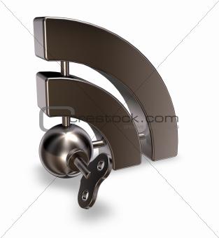 metal rss symbol