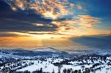 Majestic sunset