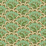 Green-brown-gray seamless pattern