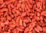 textured goji berries