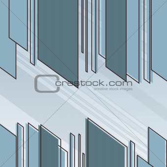 abstract sharp cut lines