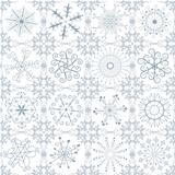Christmas silvery repeating pattern