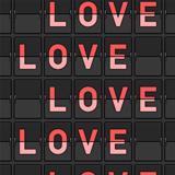 Love Flip Board