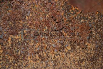 rusty metal oil drum background texture