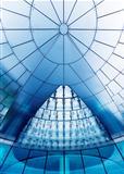 Modern futuristic glass.