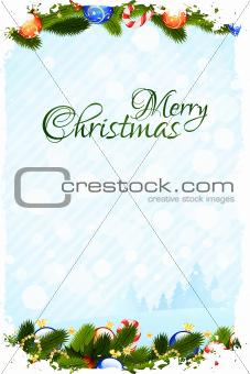 Grungy Christmas Card