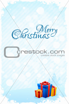 Grungy Christmas Greeting Card