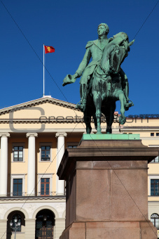 The Royal Palace in Oslo