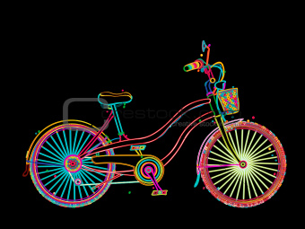 Artistic  bicycle