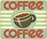 Retro Cover for Coffee Menu