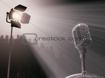 Microphone Spotlight