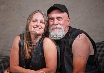 Mature Smiling Couple