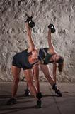 Women Doing Boot Camp Workout