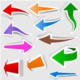 Colored Arrows