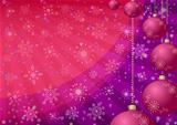 Christmas balls, background