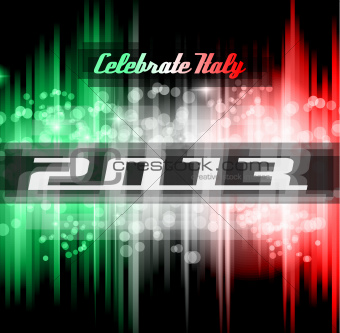 2013 Italian New Year Celebration Background