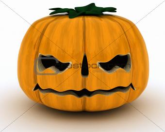 Carved pumpkin Jacko Lantern
