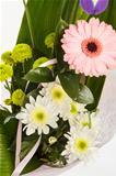 fresh flower bouquet with gerber