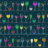 Cocktail's pattern design