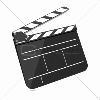 Film Clap Board Cinema.