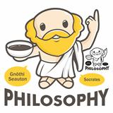 A symbol of the philosophy Socrates, The philosophy department Vector Character