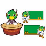 In mallard ducks and a variety of educational activities. Duck Vector Character