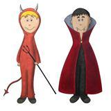 Devil and vampire