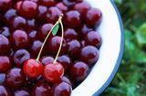 Cherries in the Bowl.