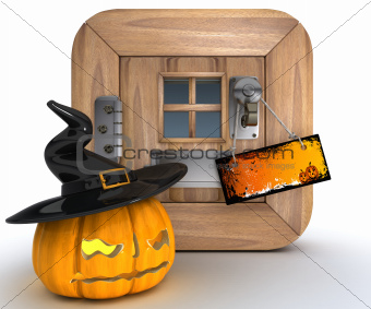 Trick or Treat Jack o lantern