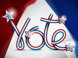 Vote USA Presidential Election Ribbon
