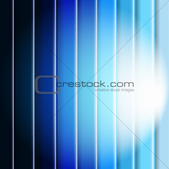 Abstract Blue Background With Line