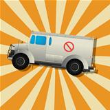 The fantastic armored truck