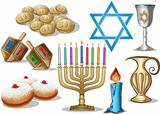 Hanukkah Symbols Pack