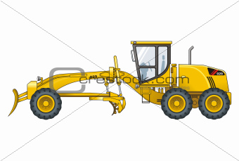 Motograder vector