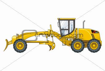 Motograder vector