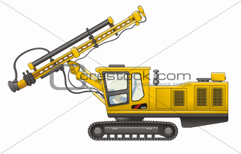 Drilling Rig vector