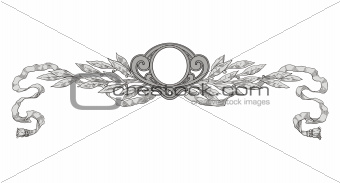 Decoration frame vector