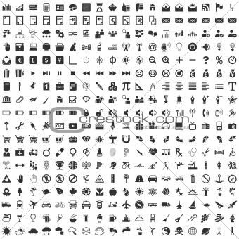 324 Vector Icons
