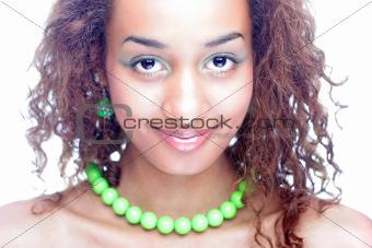 Ethnic beauty girl