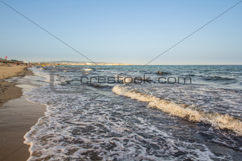 Beach in Hammamet, Tunisia