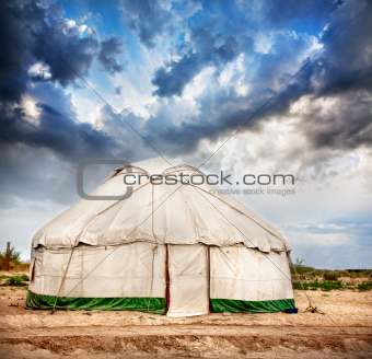Yurt  nomadic house