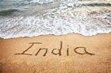 India on the beach