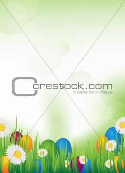 vector easter design