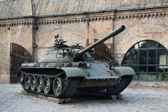 T-54 russian tank