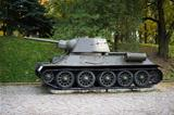 T-34 tank II world war