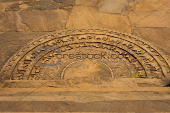 Polonnaruwa Sandakada Pahana Ground Relief