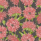 Seamless floral pattern with chrysanthemum