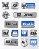 Contacts/Mail/Email web elements
